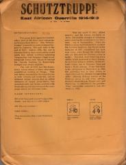 Schutztruppe (1st Edition)