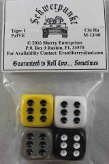 16mm Schwerpunkt Dice - Axis Tanks Pack (4)