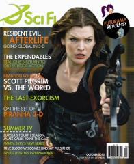 "Vol. 16, #5 ""Resident Evil Afterlife, The Expendables, Piranha 3-D"""