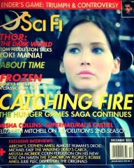 "Vol. 19 #5 ""Ender's Game, Catching Fire, Thor - The Dark World"""