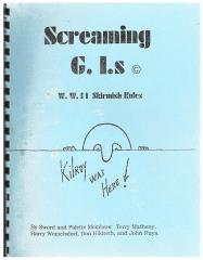 Screaming G.I.s (Kilroy Cover)