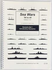 Sea Wars - '94 tp '44 (3.10 Edition) - Scenario Set 1, Introductory Scenarios