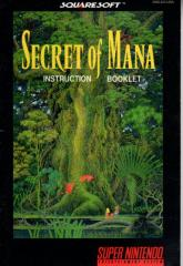 Secret of Mana Instruction Manual
