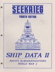 Ship Data II - Refits & Modernizations, World War 2