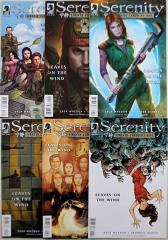 Serenity - Leaves on the Wind Complete Collection - 6 Issues!