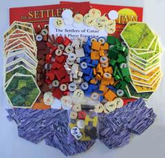 Settlers of Catan Collection #1 - Base Game + Expansion and 2 Extensions