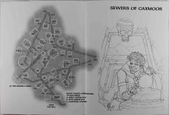 Sewers of Gaxmoor Map