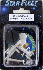 Kzinti CVE and Destroyer