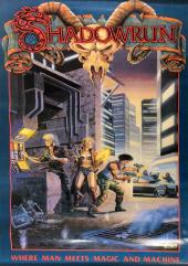 Poster - Shadowrun 1st Edition Cover Art