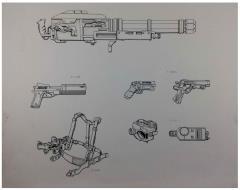 Shadowrun 2nd Edition Equipment Original Art