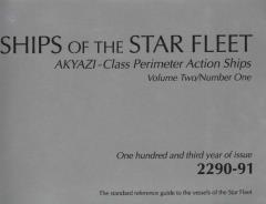 Ships of the Star Fleet - Akyazi-Class Perimeter Action Ships Vol. 2, #1