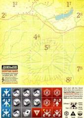 Postcard Game w/Die-Cut Counters - Showtime Hanoi