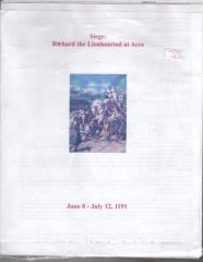 Siege - Richard the Lionhearted at Acre