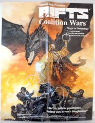 Rifts Siege on Tolkeen #1 - Sedition, Cover Art & Advertisement Poster