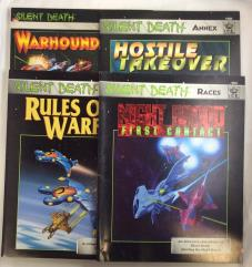 Silent Death Supplement Collection #1 (4 Books!)