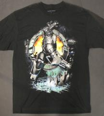 Silver Iron Man T-Shirt (L)