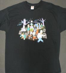 Simpson's Halloween T-Shirt (XXL)