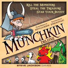 Munchkin Deluxe w/Cardboard Standups