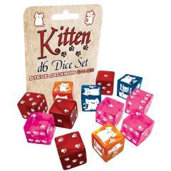 16mm d6 Kitten Dice Set (12)