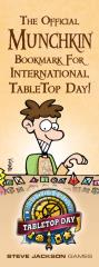 Official Munchkin Bookmark for International Tabletop Day, The