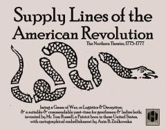 Supply Lines of the American Revolution - The Northern Theater