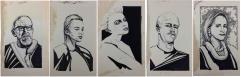 Rhonda's Irregulars - Original Crew Portraits