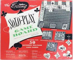 Solo-Play Game Board