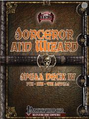 Sorcerer and Wizard Spell Deck IV