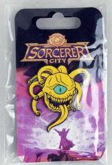 Sorcerer City Enamel Pin
