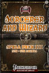 Sorcerer and Wizard Spell Deck III
