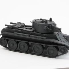 Soviet BT-7A Artillery Tank