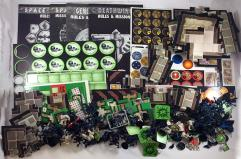 Space Hulk 1st Edition Components Collection - Over 50 Minis & Map Tiles!