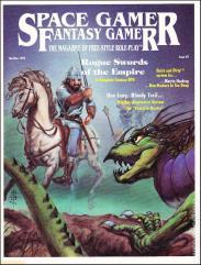 """Space Gamer/Fantasy Gamer #2 """"Vampire Hunter, Rogue Swords of the Empire"""""""