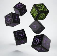 Grymkin Faction Dice (6)