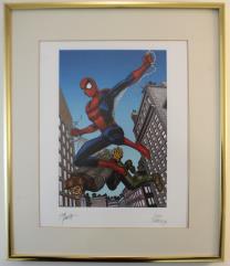 Amazing Spider-Man Art Print (Framed)