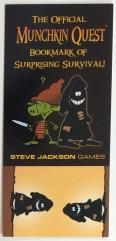 Munchkin Quest - The Official Munchkin Quest Bookmark of Suprising Survival
