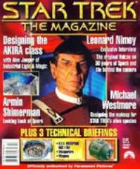 "#3 ""Designing the AKIRA Class, Lenord Nimoy Exclusive Interview, Armin Shimerman Looking Back at Quark"""