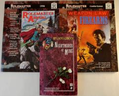 Rolemaster Standard Supplement Collection - 3 Books!