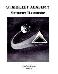 Starfleet Academy Student Handbook