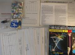 Star Fleet Battles Collection #8 - Starfleet Battles + Expansions 1, 2, 3, and Supplement 1!