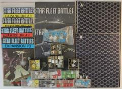 Star Fleet Battles Collection #7 - 2 Games + 4 Expansions!