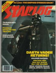 "#35 ""Darth Vader Returns!, The Black Hole Robots"""