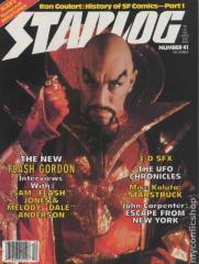 "#41 ""New 'Flash Gordon,' 3-D SFX, The UFO Chronicles"""