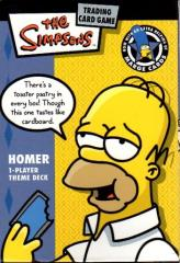 Simpsons Card Game - Homer Starter Deck