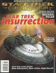 "#118 ""Star Trek Insurrection, The Making of Kilngon Academy, Exclusive Interview with Writer/Producer Michael Piller"""