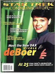 "#119 ""Meet the New Dax - Nicole deBoer, At 25 - Star Trek's Animation and those who Made it, Behind the Lens - A Director's World"""