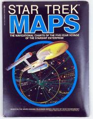 Star Trek Maps (4 Deluxe Wall Maps)