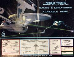 Star Trek Miniatures Advertisement Poster