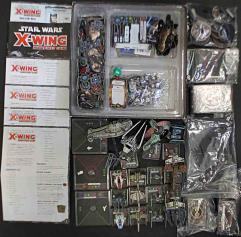X-Wing Miniatures Collection #8 - Base Game + 15 Additional Ships!