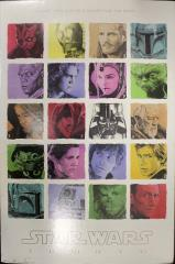 Star Wars Saga Cast Poster